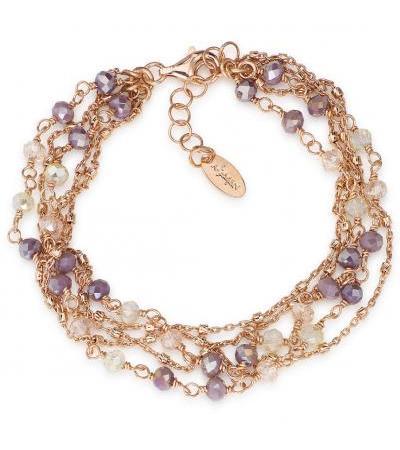 دستبند جواهرات زن Amen Romance BRRV