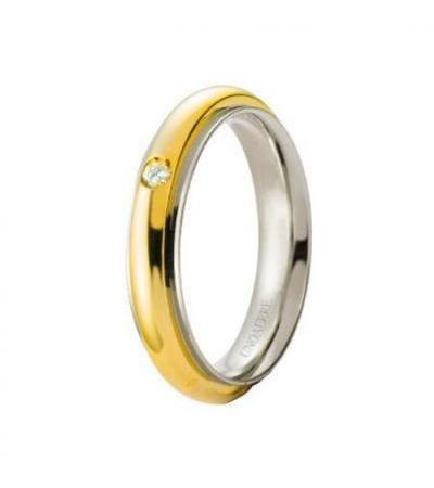 မင်္ဂလာဆောင်လက်စွပ် unisex ရတနာ Unoaerre Brillanti Promesse 70 ကို AFC 281 / 001 07 8