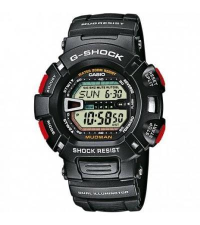 Mālamaʻo G-Shock i ka polokalamu G-9000-1VER Mudman nānā