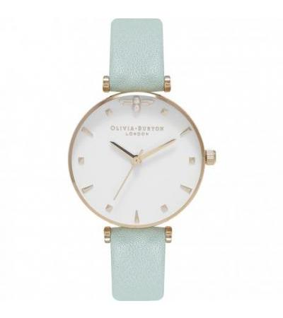 Olivia Burton OB16AM143 Queen Bee Mint and Gold watch