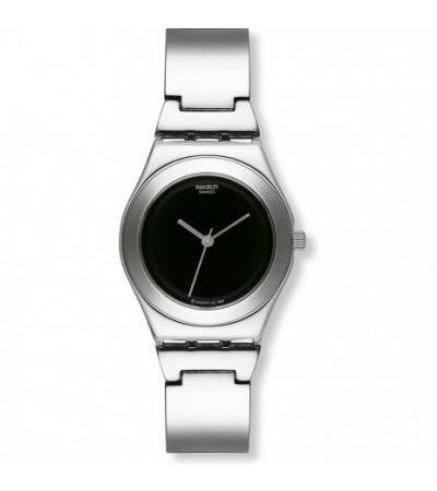 ساعت یاتاقان جادویی سیاه YLS115G Swatch Irony