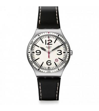 Swatch အမြီးအမောက် YWS403C Caterhblack လက်ပတ်နာရီ