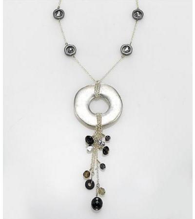 Edita - Cool Cascade - Handcrafted Israel Necklace