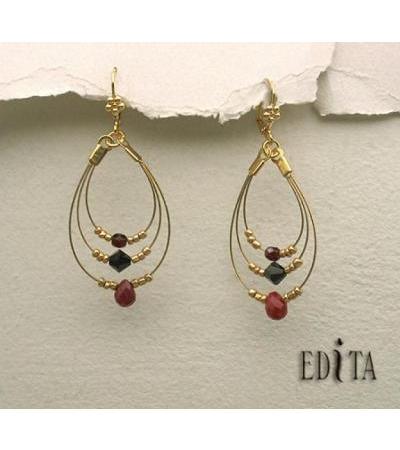 Edita - Ecstasy - Ruby Red - Nā pepeiao pepeiao o ʻIseraʻela