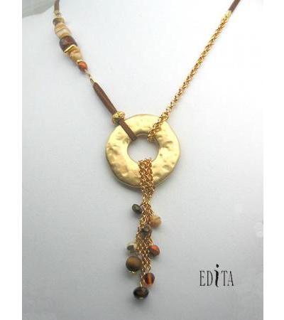 Edita - Ke gula Kahalaha - Handcrafted Israeli Necklace
