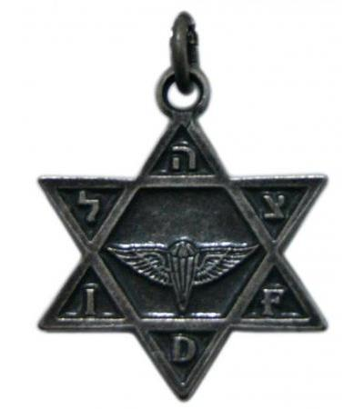 IDF Paratroop Brigade, Star of David Necklace