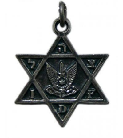 Air Force Israeli, Star of David Necklace