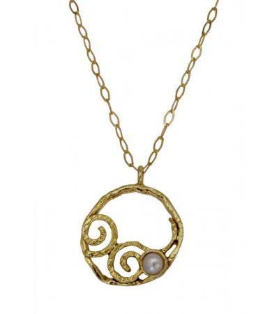 جواهرات طلای گرد با مروارید، جواهرات یهودی