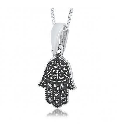 Trendy Hamsa Necklace