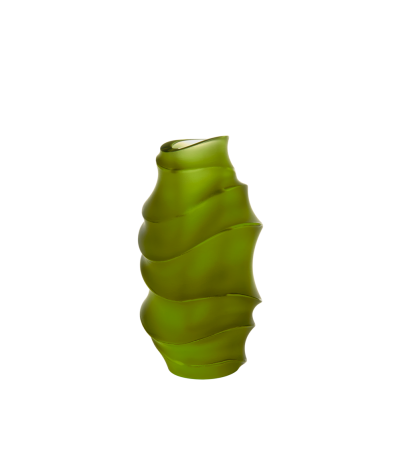 Green Small Vase Sand by Christian Ghion