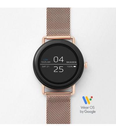 Smartwatch - Falster 1 Rose Gold-Tone Steel-Mesh